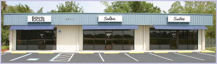 Focus Salon Suites - Front of Building